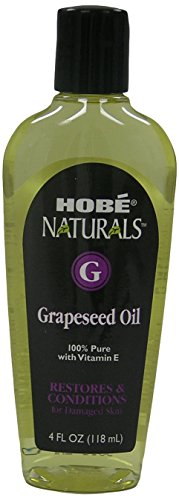 Hobe Naturals Grapeseed Oil, 4 Fluid Ounce (Hobe Naturals compare prices)