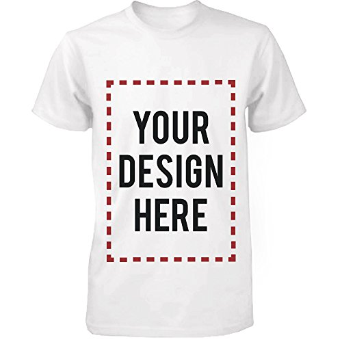365Printing Custom T-shirt Photo Design Print Unisex Tee, (WHITE), (UNISEX-L) (Custom Shirts For Men compare prices)