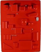 Vitra, Organizer per utensili con ganci in metallo, Rosso (Rot)