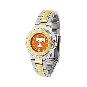 Tennessee Vols Ladies Stainless Steel and Gold Tone Watch by SunTime