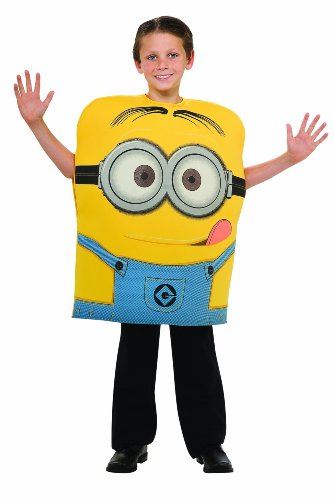 Despicable Me 2 Minion Dave Costume Boys Size Small (6)