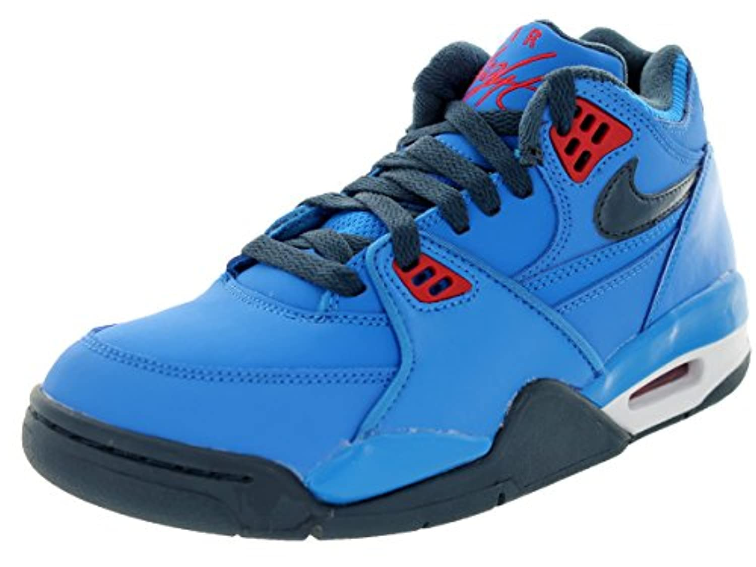 ... Nike Air Flight 89 (Kids) - Photo Blue / Squadron Blue-Hyper Red ...