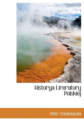 Historya Lireratury Polskiej