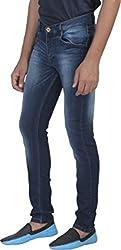 Ragged Men's Slim Fit Jeans (RASSABL054_Blue_30)