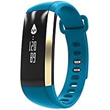 Smart Band Watchband Smartband Smartwatch Watch Heart Rate Blood Oxygen Pressure Monitor Pedometer Fitness Activity...