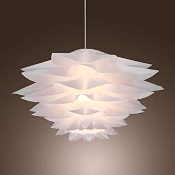 LightInTheBox 60W Floral Pendant Light In Petal Featured Shade Modern Ceili
