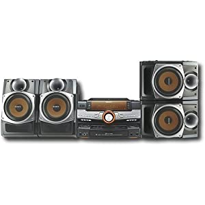 Sony LBTZUX9 Mini Hi-Fi Shelf System 1000W RMS Total Power (Silver) (Discontinued by Manufacturer)