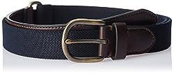 Nautica Men's Synthetic Belt (11NUE3X0234NV_Navy) (8907259557571)