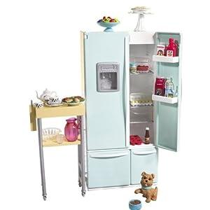 erstaunlich barbie k hlschrank und beistelltisch bewertungen beistelltisch. Black Bedroom Furniture Sets. Home Design Ideas