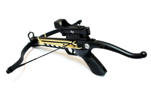 80lbs Self Cocking Crossbow with 15 Arrows and Scope (See More Red Dot compare prices)
