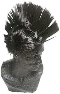 WeGlow International Black Mohawk Wig (Pack Of 2)