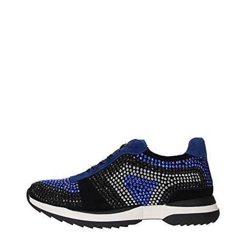 Luciano Barachini 5122B Sneakers Donna Scamosciato Blu/Argento Blu/Argento 41