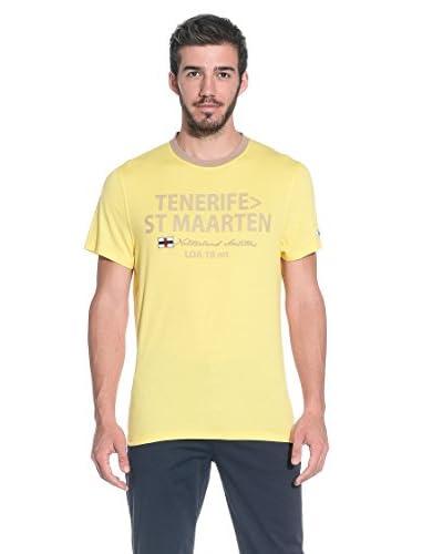 Slam T-Shirt Manica Corta Kettle [Giallo]