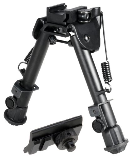 Discover Bargain UTG Tactical OP Bipod, QD Lever Mount, Height 5.9-7.3