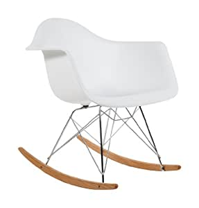 charles eames rar plastic rocking chair white. Black Bedroom Furniture Sets. Home Design Ideas