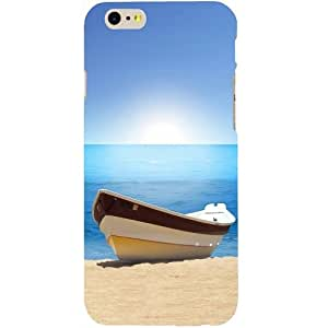 Casotec Beach Boat Design Hard Back Case Cover for Apple iPhone 6 / 6S
