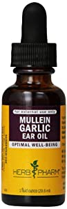 Herb Pharm Mullein/Garlic Compound Supplement, 1 Ounce