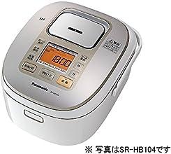 パナソニック IHジャー炊飯器 1合~1升 ホワイト SR-HB184-W