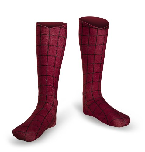 Disguise Men's Marvel The Amazing Spider-Man Adult Boot Covers Costume Accessory