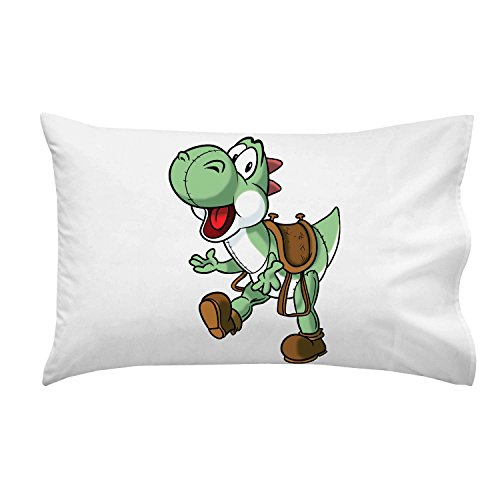"""Plumbing Story"" Western Horse Character Funny Video Game & Children'S Cartoon Movie Parody - Pillow Case Single Pillowcase front-808345"