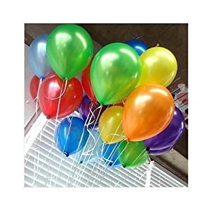 MESHA 12 Inches Assorted Color Party Balloons (144 Pcs) Very High Quality - USA SELLER from MESHA