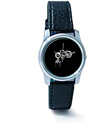 BigOwl Bike Is My Reality Women's Analog Wrist Watch 1293804536-RS2-S-BLK