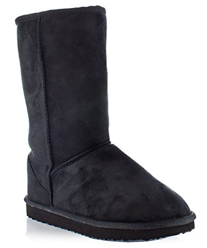 rof-eva-33-womens-snow-boots-new-black-suede-size-85-