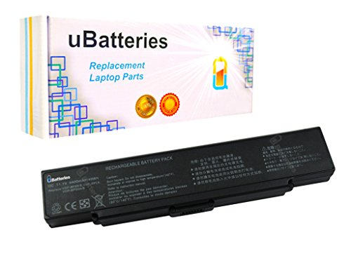 Click to buy UBatteries Laptop Battery Sony VAIO VGN-CR131E/BC - 6 Cell, 4400mah (Black) - From only $36.95