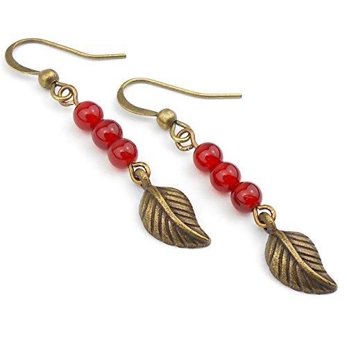 red-carnelian-long-drop-leaf-earrings-in-antique-bronze-includes-gift-box