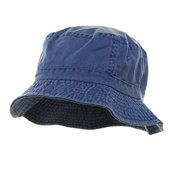 03e1488514a1d9 Pigment Dyed Bucket Hat Royal at Amazon Men?s Clothing store: