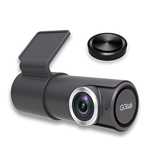 Goluk T2 FHD 1080P 152° WDR Car Dash Cam with Night Vision, G-sensor for Real Time Video Sharing, Motion Detection, Traffic Accident Disputes, Parking Monitor Loop Recording
