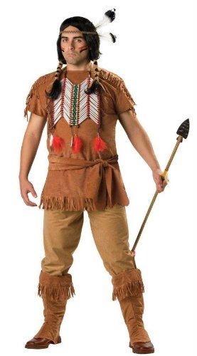 Costumes For All Occasions Ic5037Xxxl Indian Brave 3Xl Size 54-56