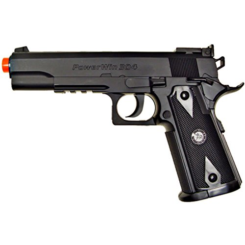 500 fps new wg airsoft 1911 non blowback gas co2 hand gun pistol w/ 6mm bb bbs(Airsoft Gun) (Airsoft Gas Pistol 1911 compare prices)