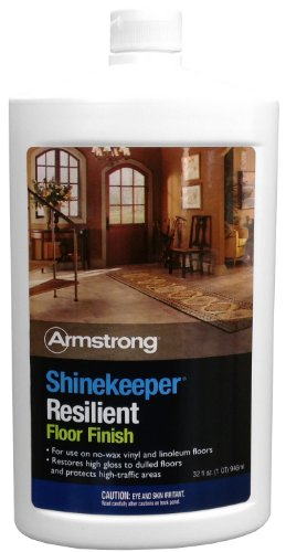 Armstrong Shinekeeper Resilient Floor Finish 32oz (Armstrong Linoleum Floor Cleaner compare prices)