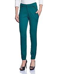 Madame Women's Pants (M1429602_Bottle Green_Medium)