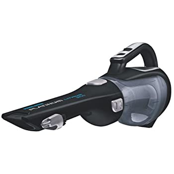 Black and Decker BDH2000LThe sleek BDH2000L vacuum features a rotating slim nozzle with a built-in crevice tool and flip-up brush and is ideal for everyday cleanup of dust, pet hair and crumbs. The triple layer, cyclonic action filtration system hel...