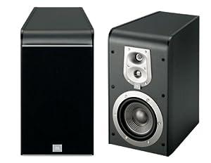 JBL ES20 High-Performance 3-Way Bookshelf Speakers (Black, Pair)