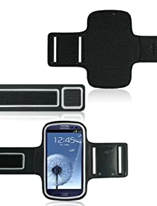 Sport Gym Armband Case for New Samsung Galaxy S3 III (AT&T, T-Mobile, Sprint, Verizon)