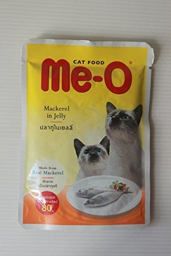 Me-O Cat Food Real Mackerel In Jelly 2.5 Oz