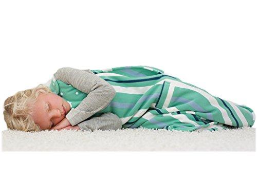 merino-kids-winter-sherpa-weight-baby-sleep-bag-for-babies-0-2-years-green-navy