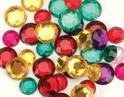 Darice Rhinestone Shapes 22 Grams Multi 1078-11; 3 Items/Order
