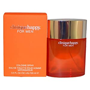 Clinique Men's Happy Eau de Toilette Cologne Spray, 3.4 fl. oz.