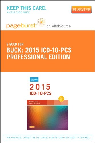 2016 Icd-10-Pcs Professional Edition - Pageburst E-Book On Vitalsource (Retail Access Card), 1E