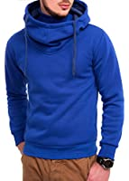 Men's Kapuzenpullover Hoher Kragen Pullover Hoodie S M L XL XXL