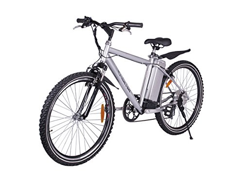 X-Treme Scooters Apline Trails Electric Powered Mountain Bike (Aluminum/Silver) (Motor Assisted Bicycle compare prices)