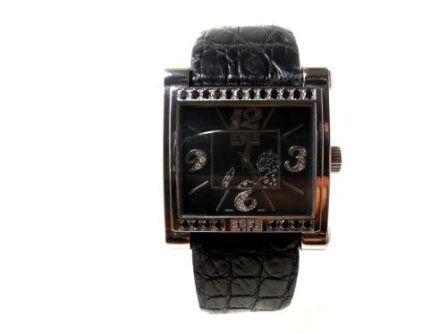 Effy Panther Daimond 0.77 Tcw. Black Dial Ladies Watch #Z00Z131D10