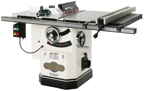 Read About Shop Fox W1819 3 HP 10-Inch Table Saw with Riving Knife