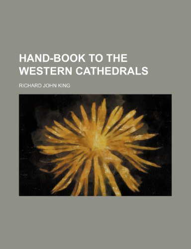 Hand-book to the western cathedrals