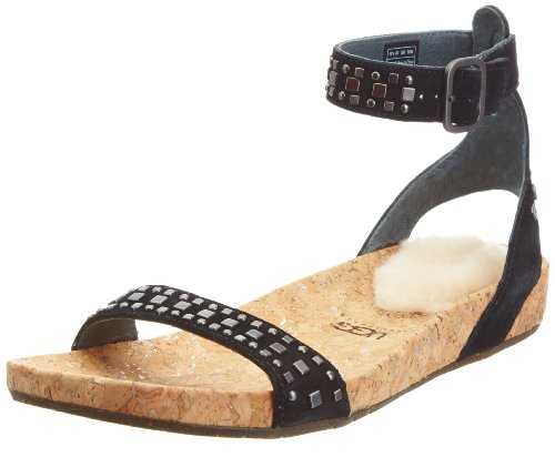Ugg Australia Women's W Jiana Black Ankle Strap 3098 3.5 UK