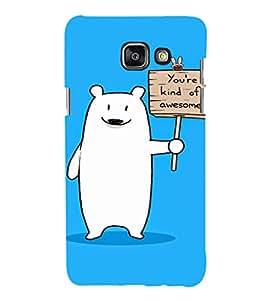 EPICCASE Funny polar bear Mobile Back Case Cover For Samsung Galaxy A7 (Designer Case)